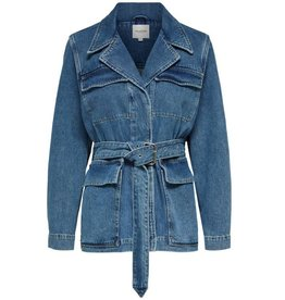 Selected Femme Studios Mid Blue Denim Jacket
