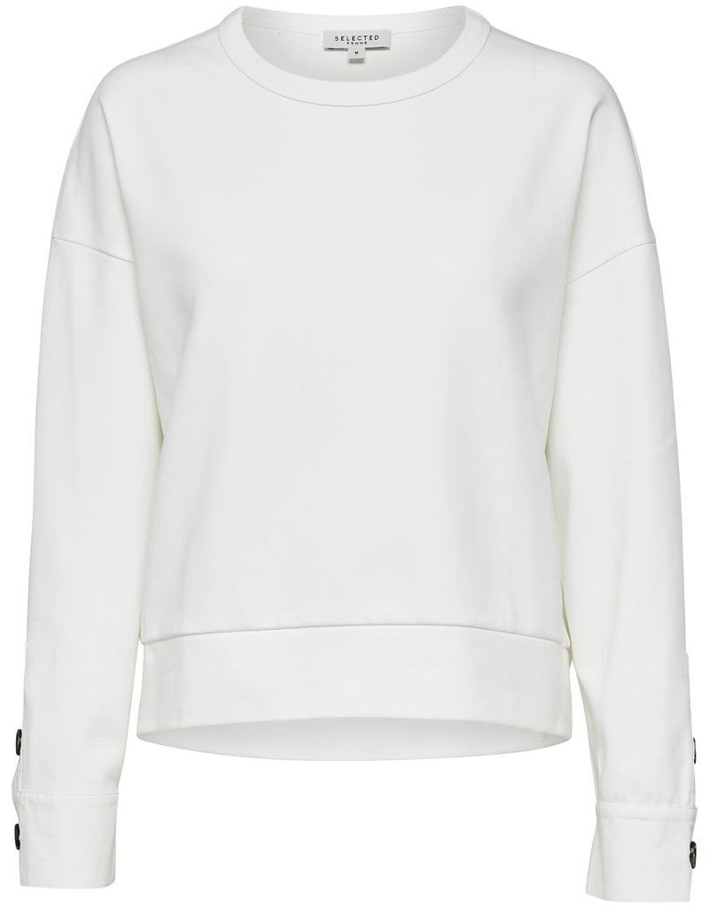 Selected Femme Alli Sweater Snow White