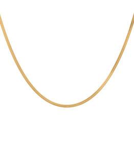 Eline Rosina Flat Snake Chain (Silver/Gold)