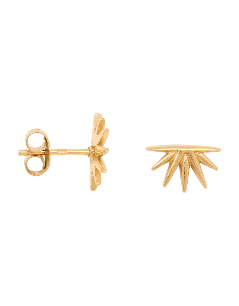 Eline Rosina Sunrise earring gold