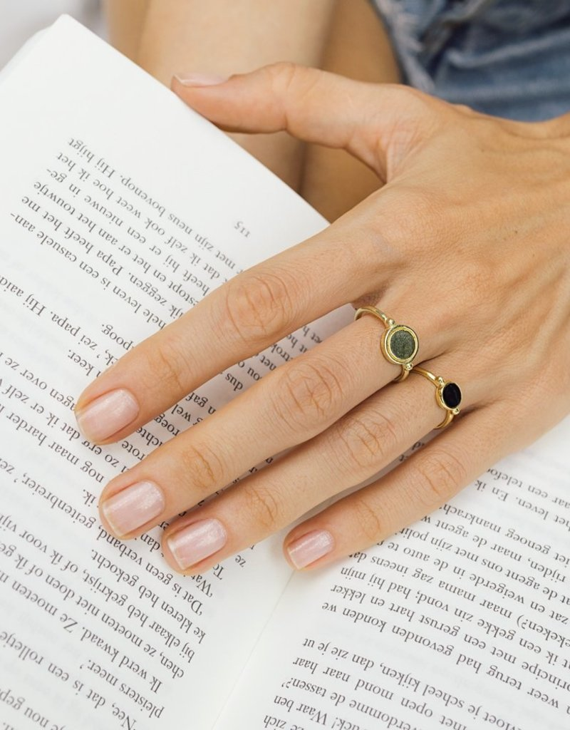Flawed Round Ring Gold