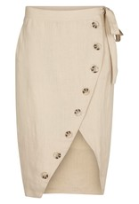 Second Female Raya wrap midi skirt