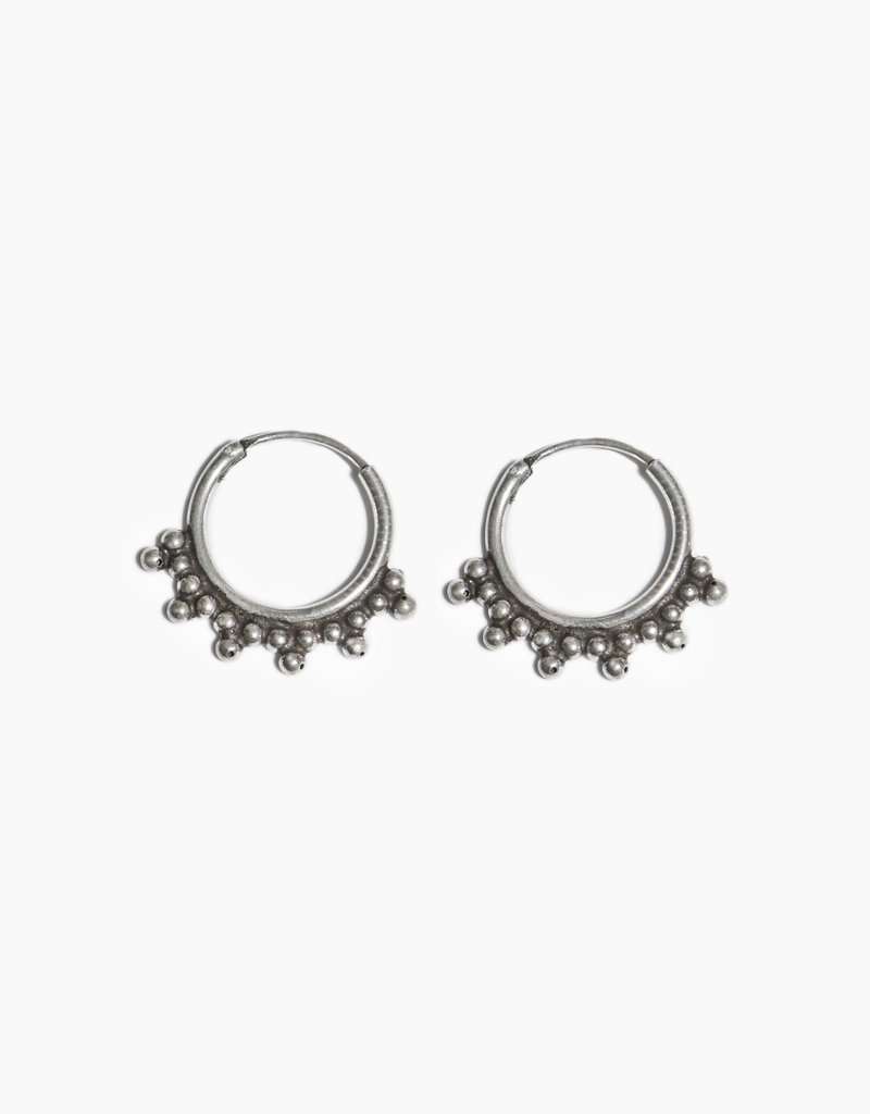 Fashionology Pablo Hoop 12mm Sterling Silver