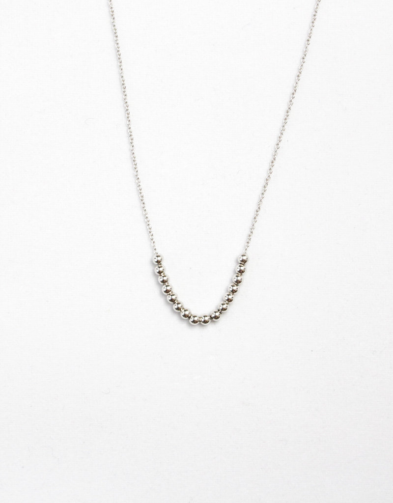 Essyello Silver Balls Necklace