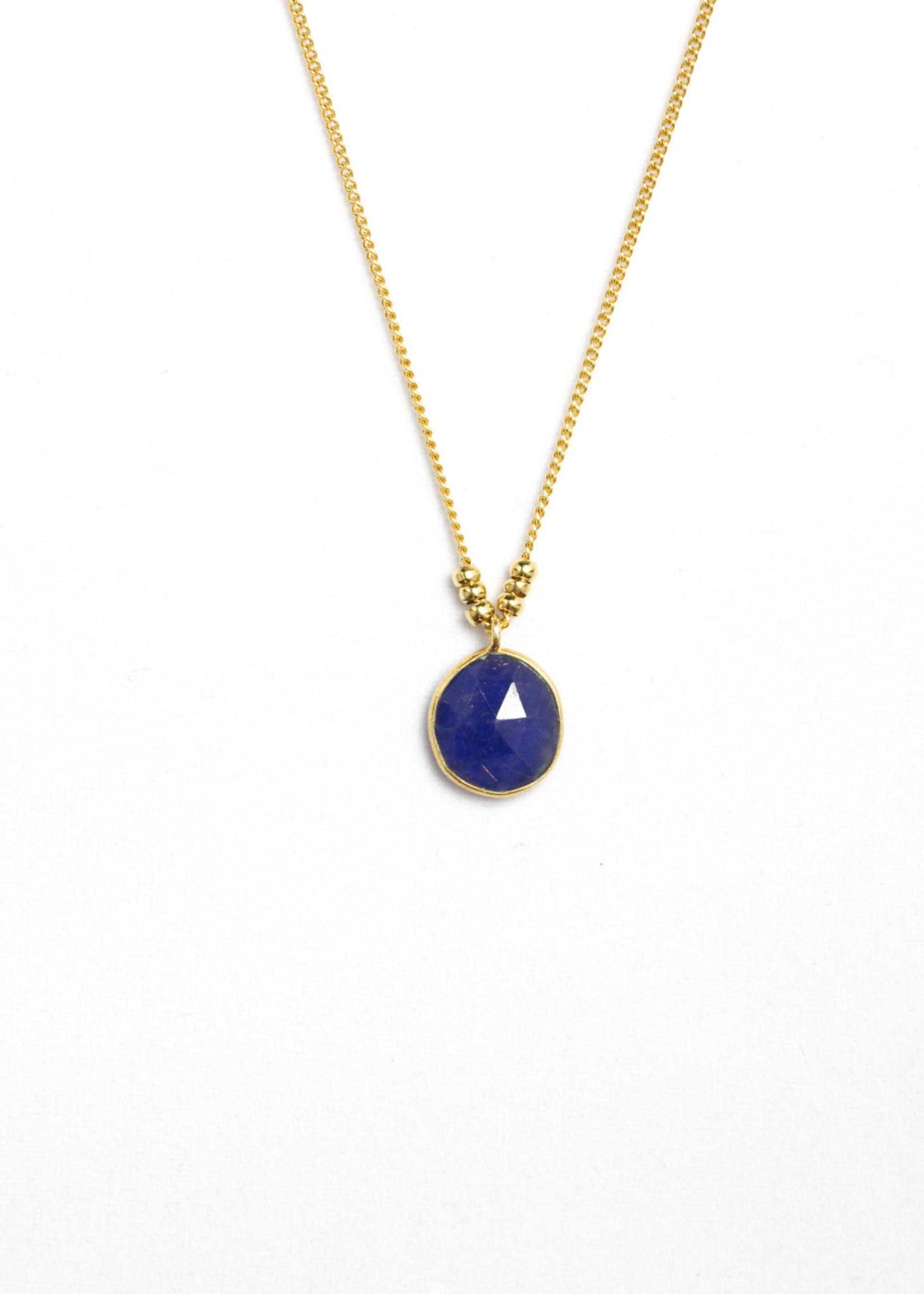 Essyello Big Dot Necklace (div. kleuren)
