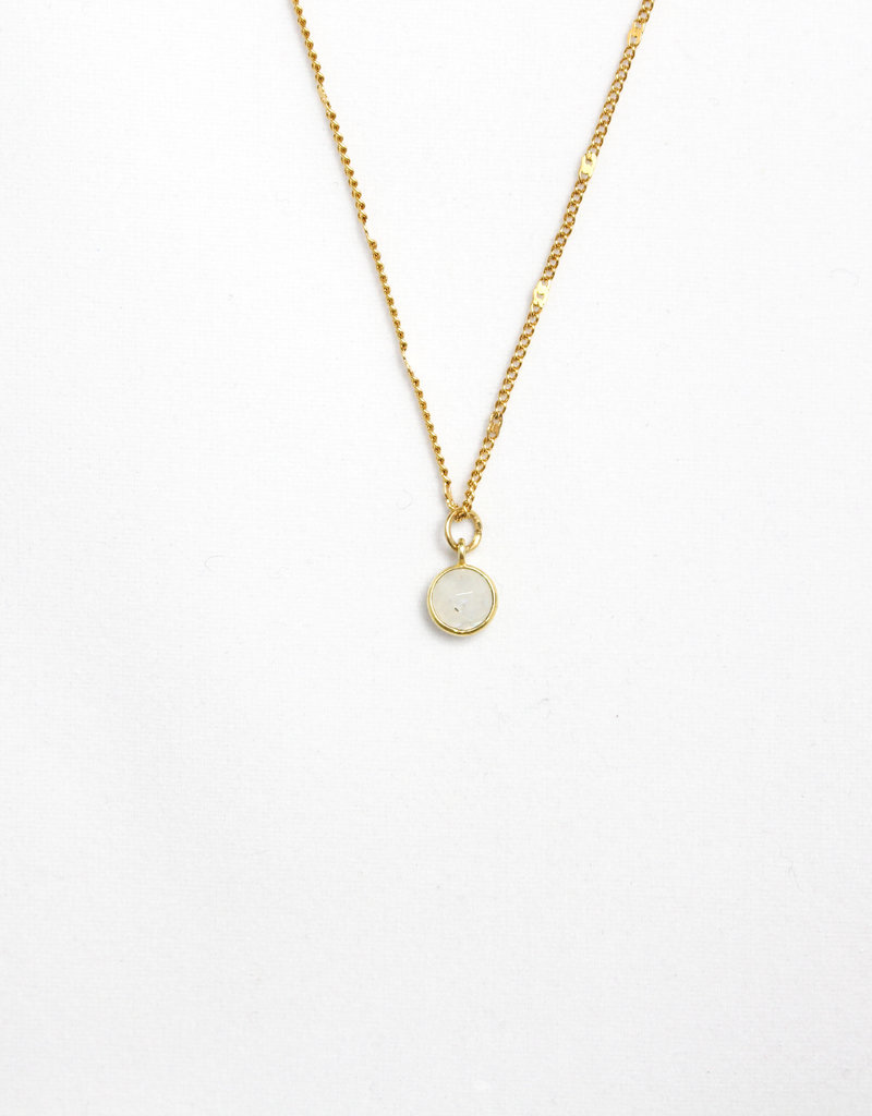 Essyello Dot Necklace (div. kleuren)