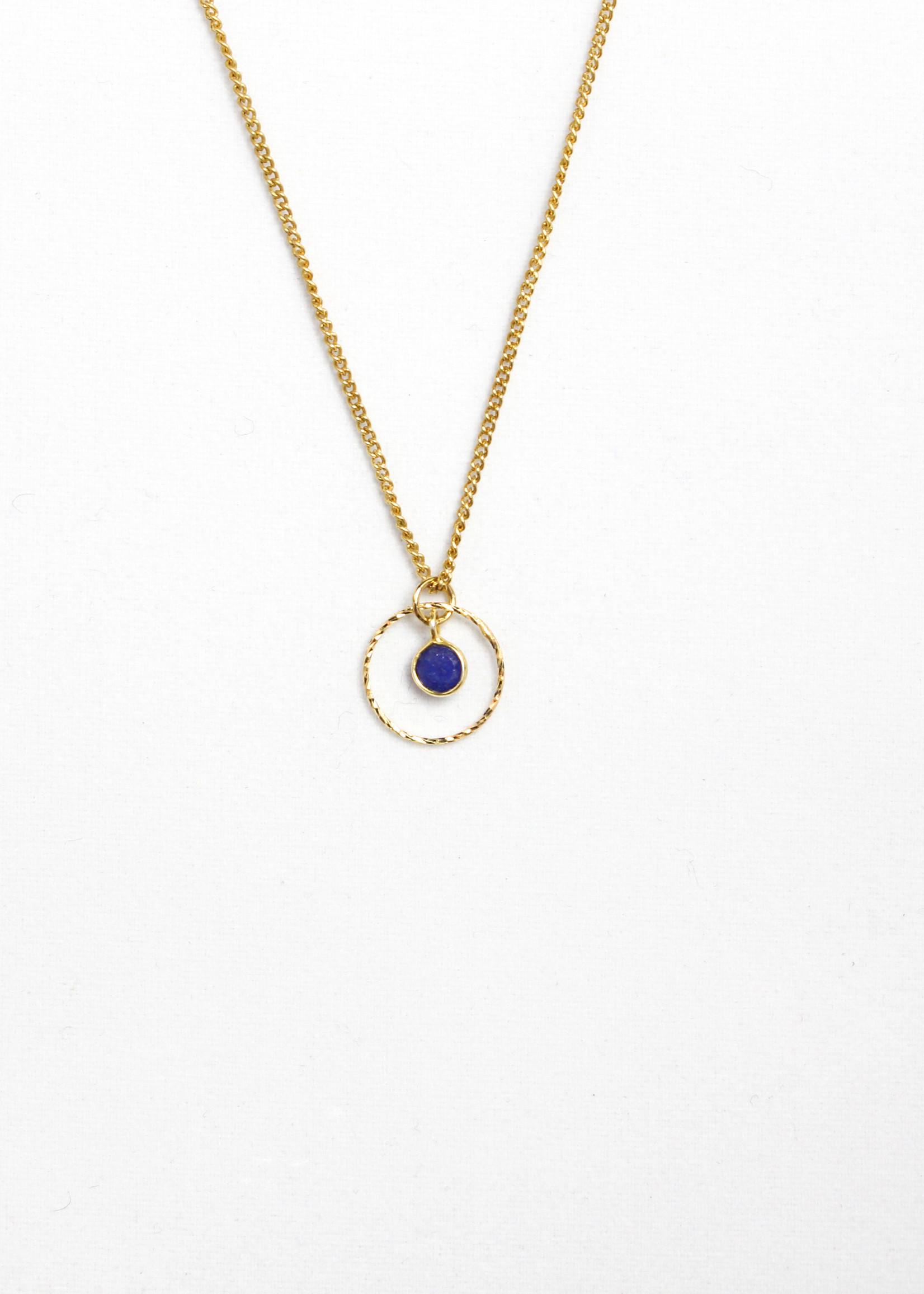 Essyello Circle + Dot Necklace (div. kleuren)