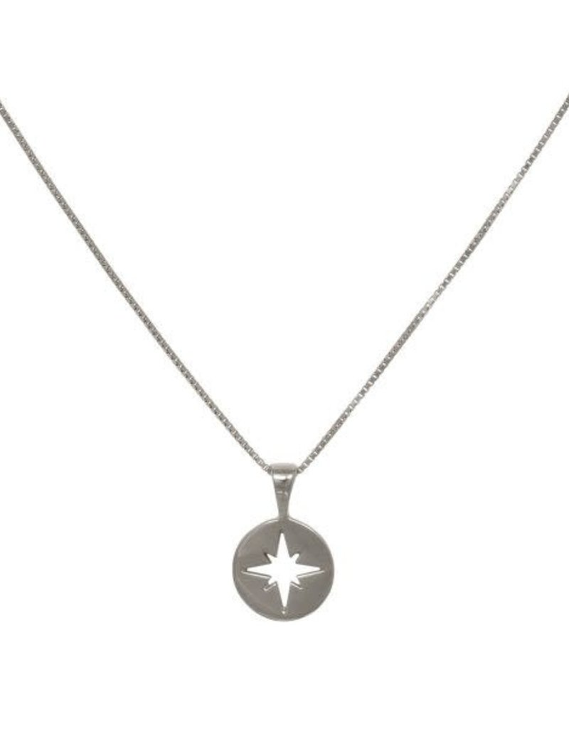 Eline Rosina North Star Coin (Silver/Gold)