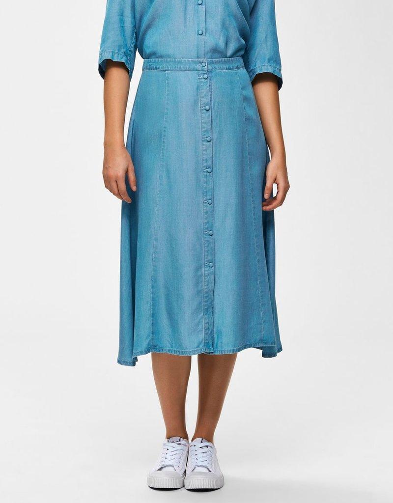 Selected Femme Noma midi skirt