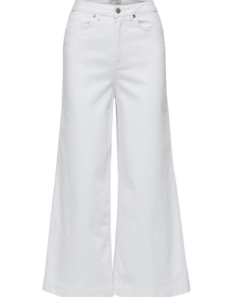 Selected Femme Carry white jeans