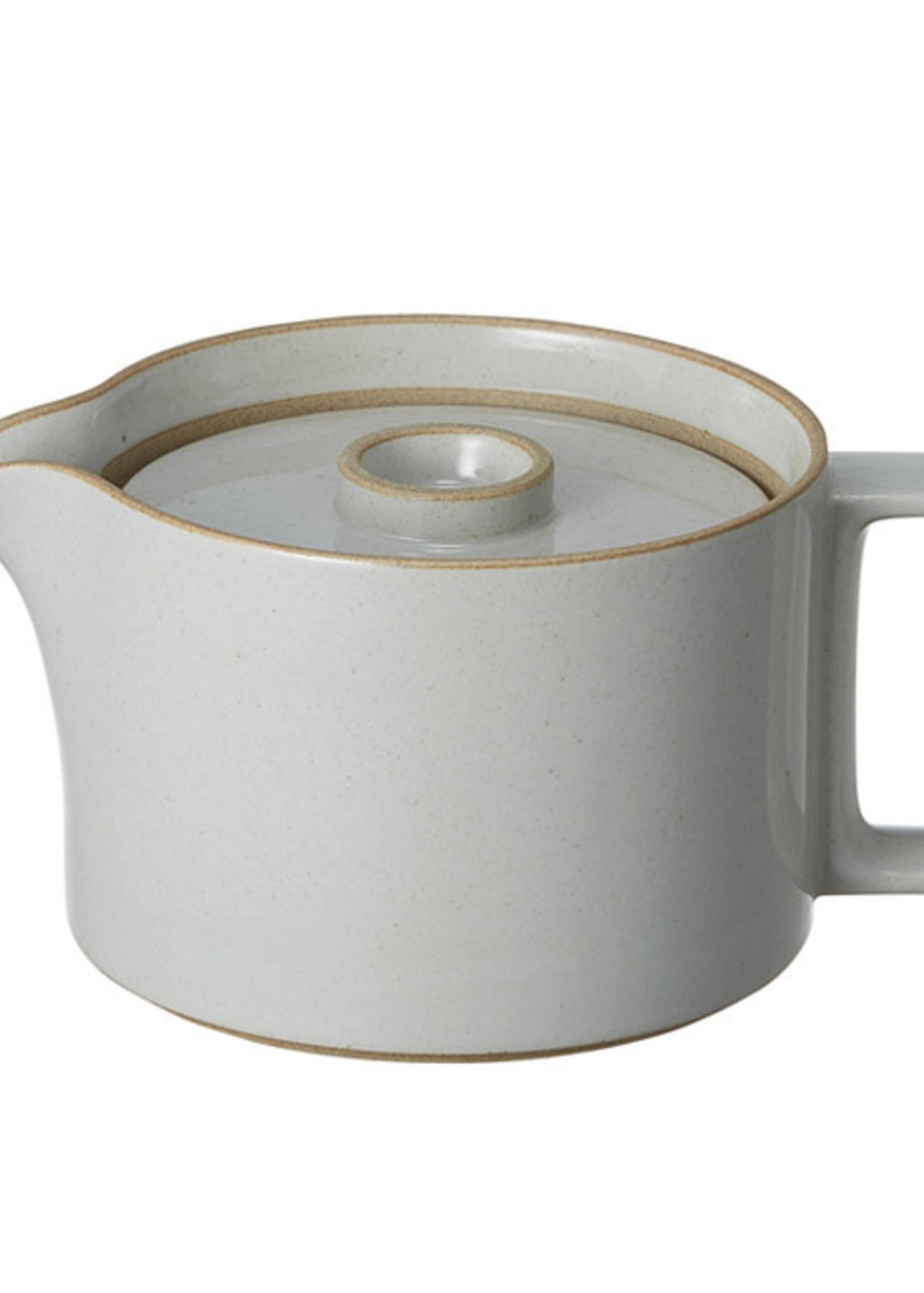 Hasami Theepot Gloss Grey HPM018