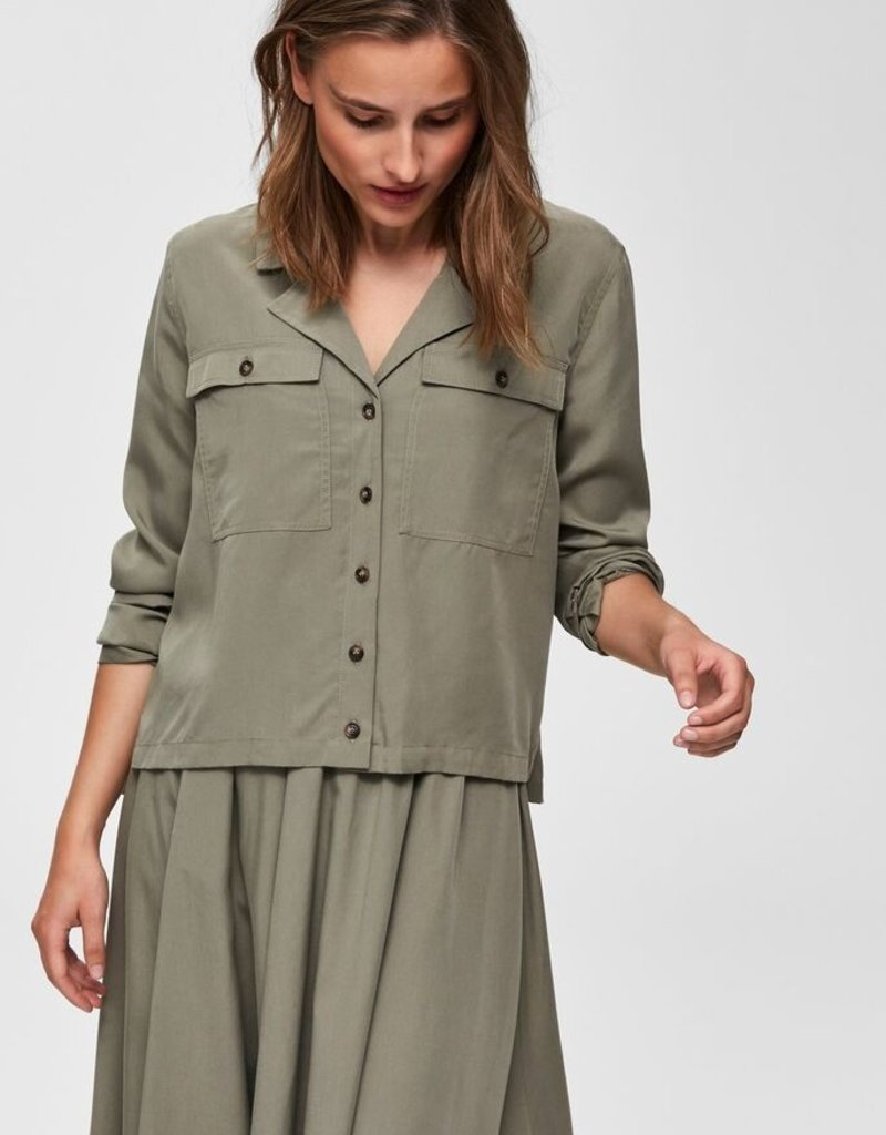 Selected Femme ADDA Long Sleeve Shirt