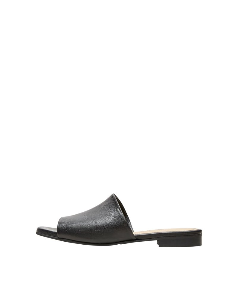 Selected Femme Merle Leather Mule