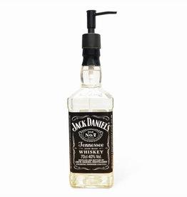 falconic upcycling Jack Daniels zeepdispenser zwart 0,7 liter