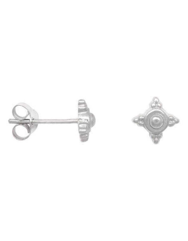 Eline Rosina Detailed dots earrings