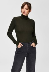 Selected Femme Costa Rib rollneck