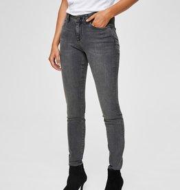 Selected Femme Ida Mid Waist Skinny  Jeans