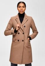 Selected Femme Bina Wool Coat Camp