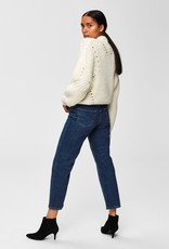 Selected Femme Tula Cropped knit Highneck