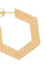 Eline Rosina Hexagon hoops