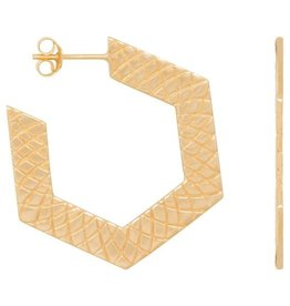 Eline Rosina Hexagon hoops