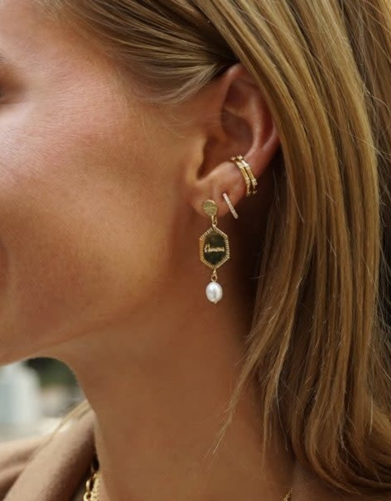 Eline Rosina Statement L'Amour earrings