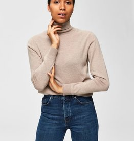 Selected Femme Aya Zig Knit rollneck