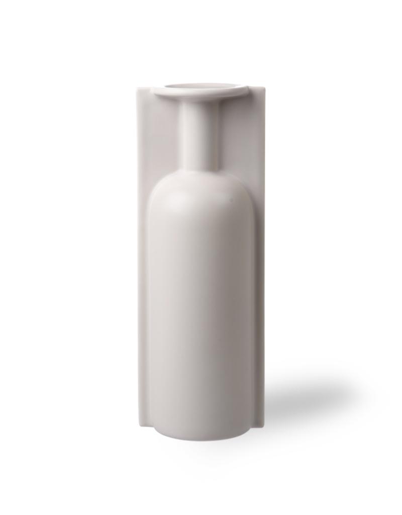 HKliving Sshape flower vase L matt skin