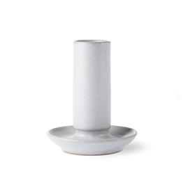 HKliving Ceramic candle holder M grey