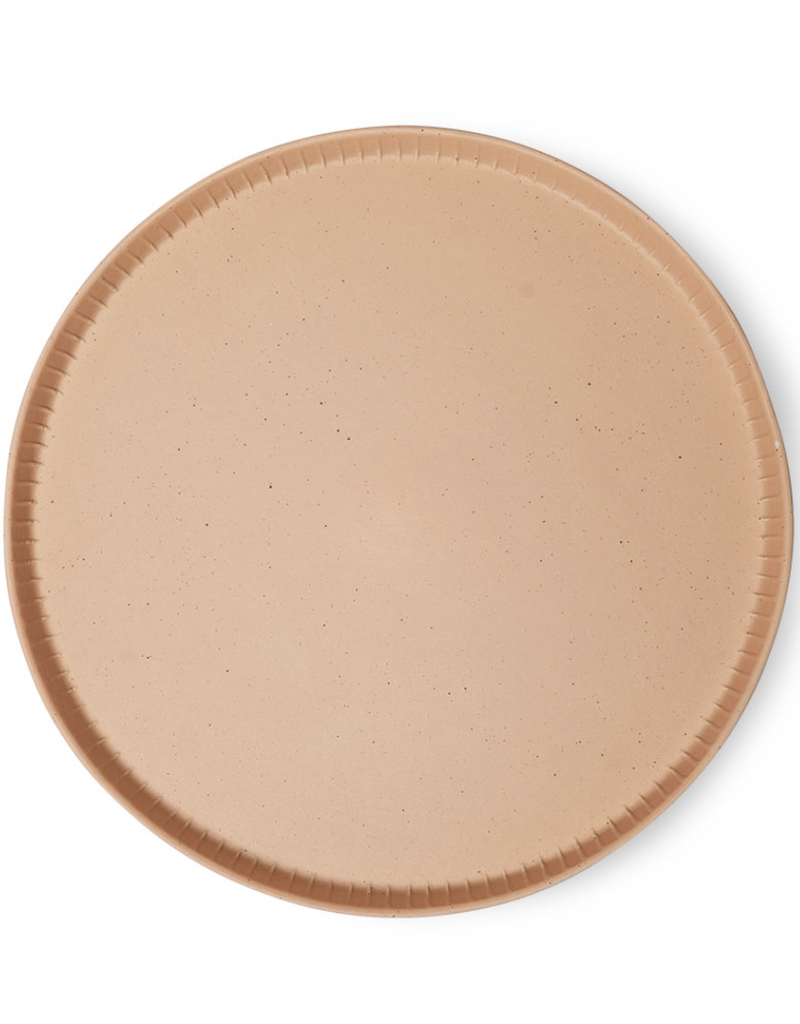 HKliving Bold & basic ceramics: tray blush