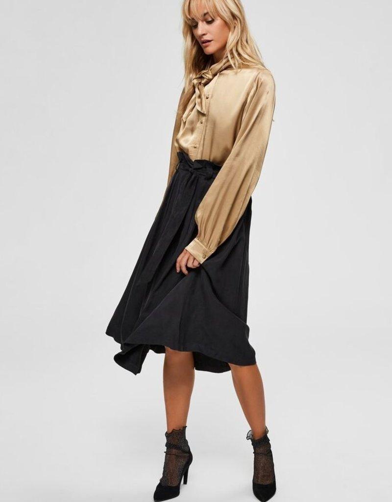 Selected Femme Ruth high waist skirt