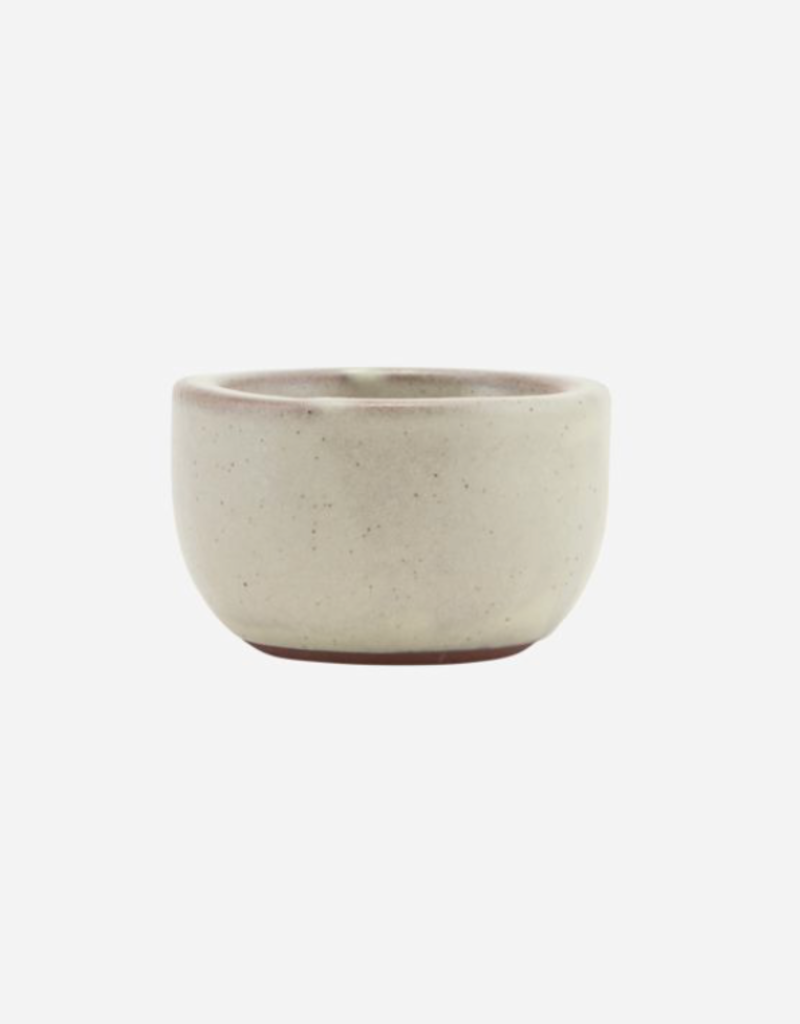 Nicolas Vahé  Bowl/Egg cup, ceramic, sand