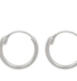 Fashionology Tiny Hoop Earrings 10mm
