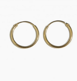 Fashionology Tiny Hoop Earrings