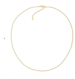 Fashionology Rolo Necklace Gold Plated