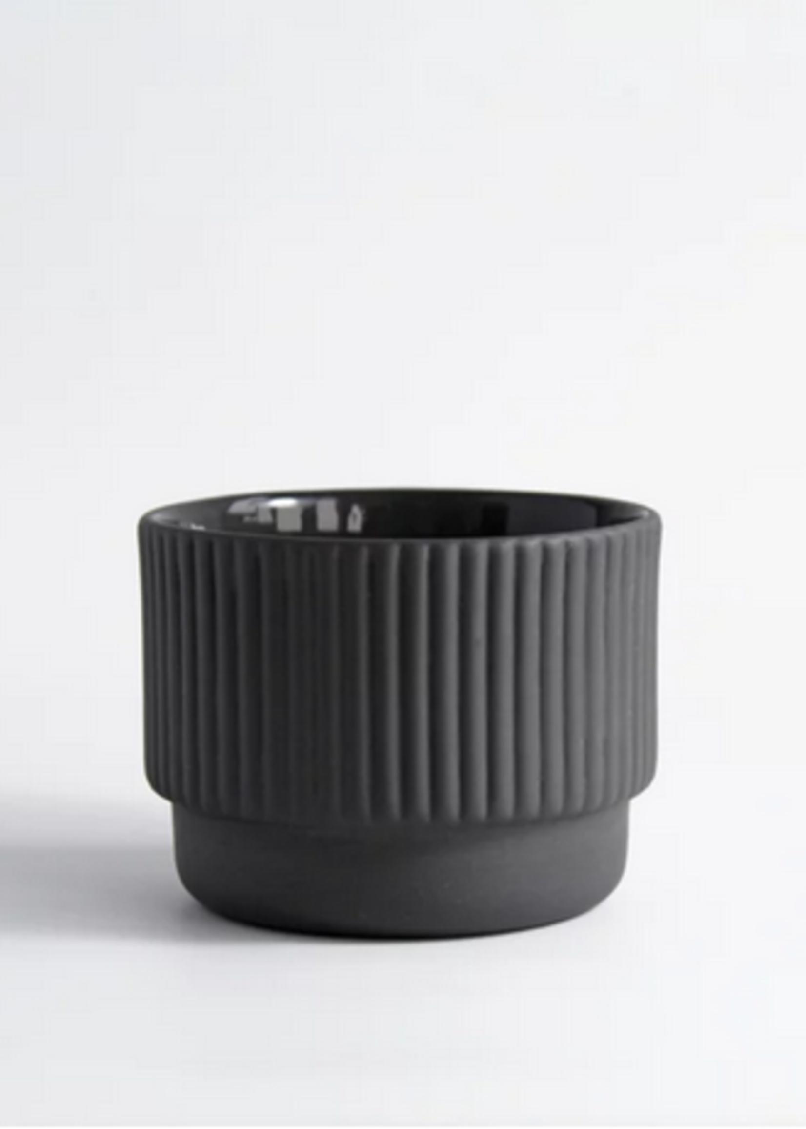 Archive Studio Amsterdam kop Cappuccino rib Dark grey