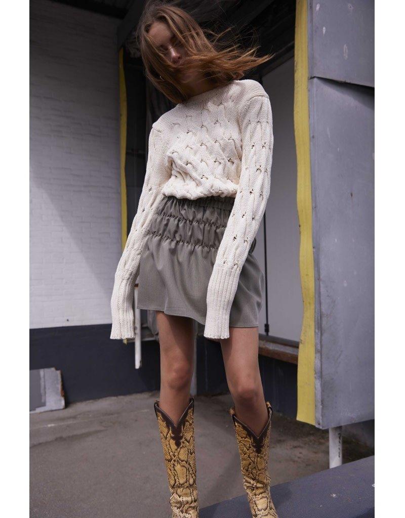 Norr  Emeri knit top