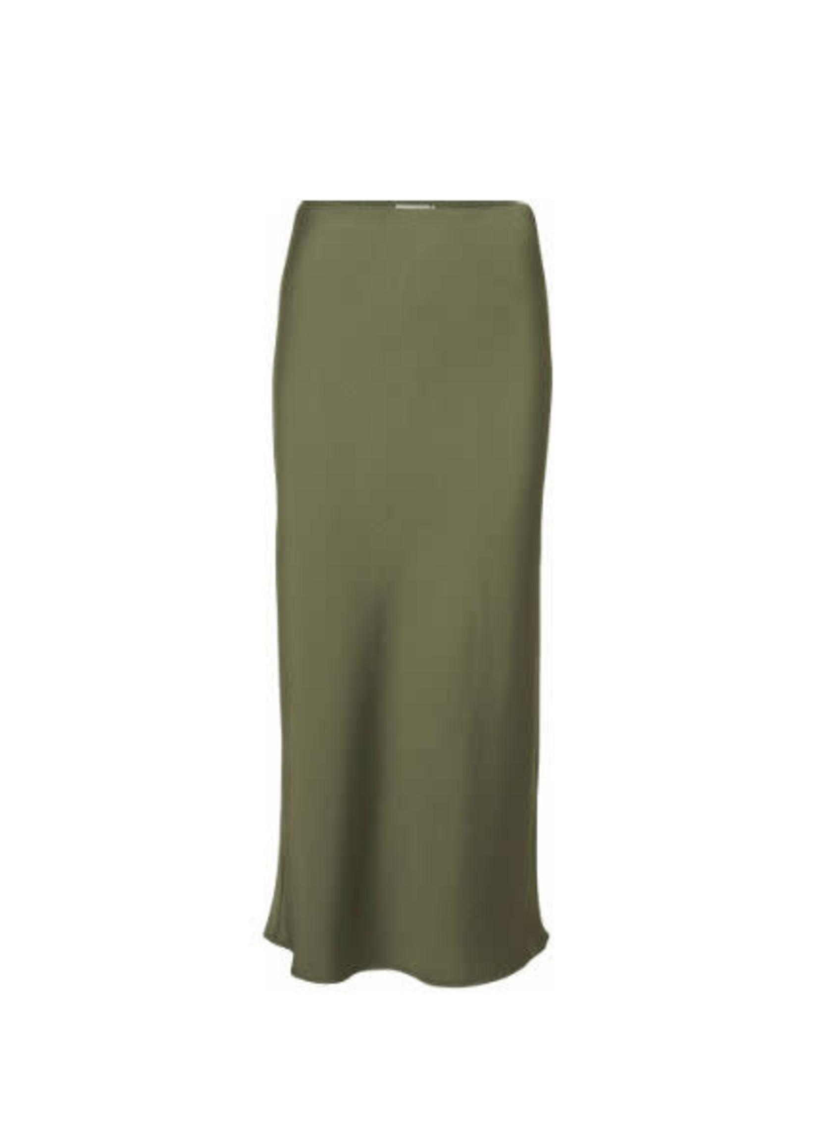 Norr Lulu solid skirt