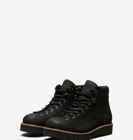Selected Femme Mira Nubuck Hiking Boot Black 40