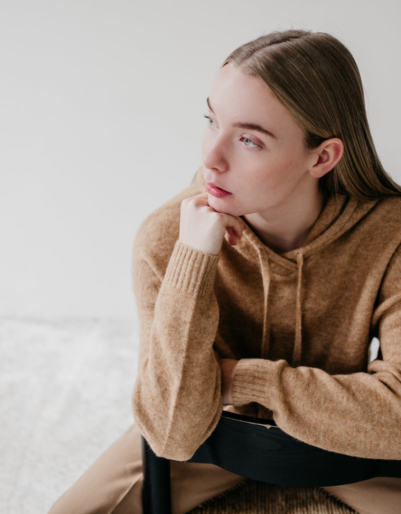 Second Female Maville knit hoodie