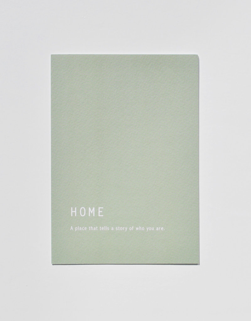 Mood  card - Home . a place that tells a story of who you are