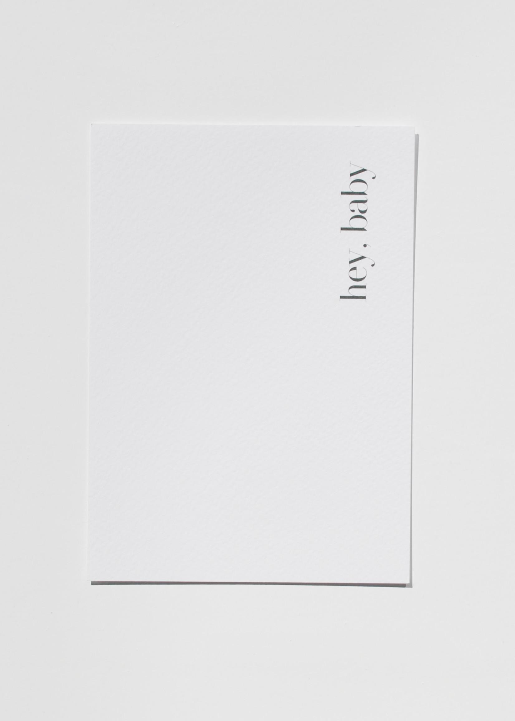 Mood card - Hey, baby