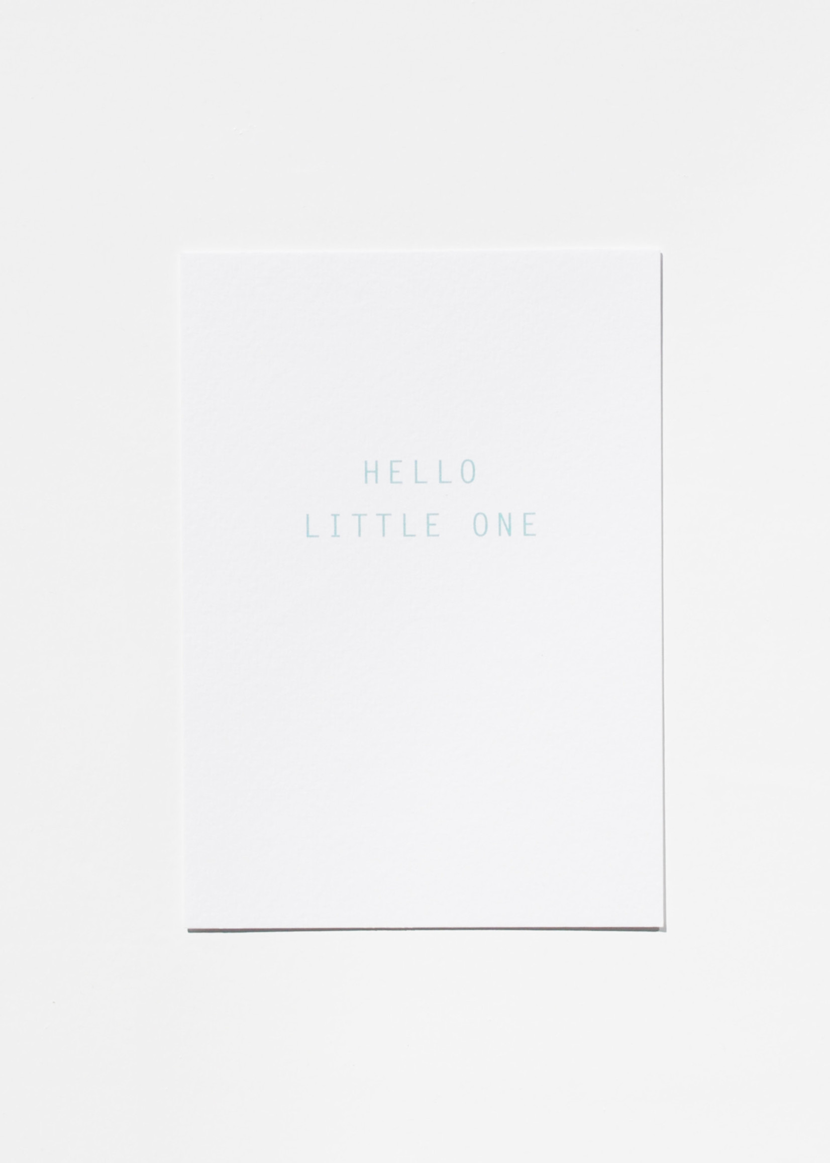 Mood card - hello little one