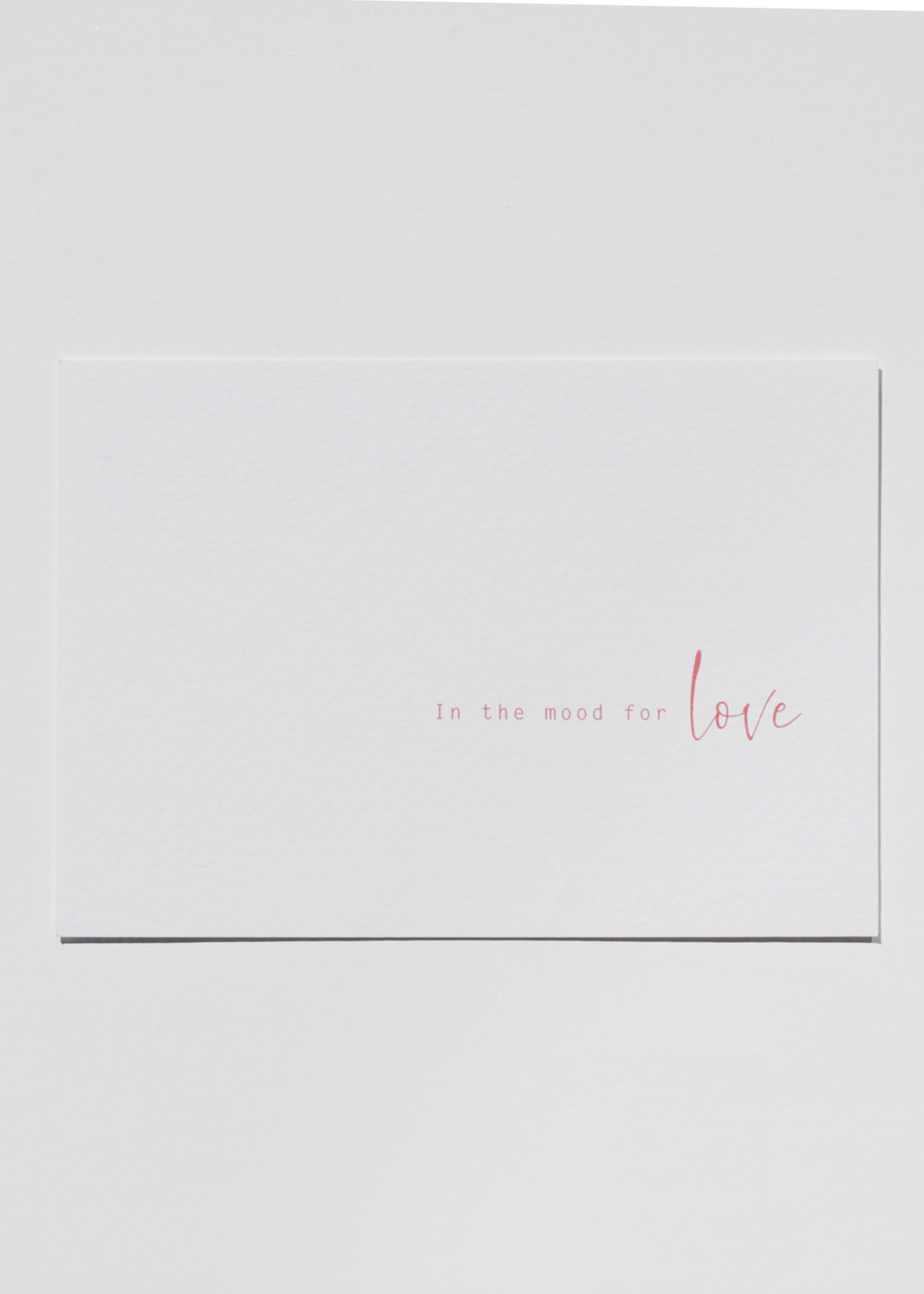 Mood card - in the mood for Love