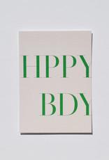 Mood MOOD card - HPPY BDAY