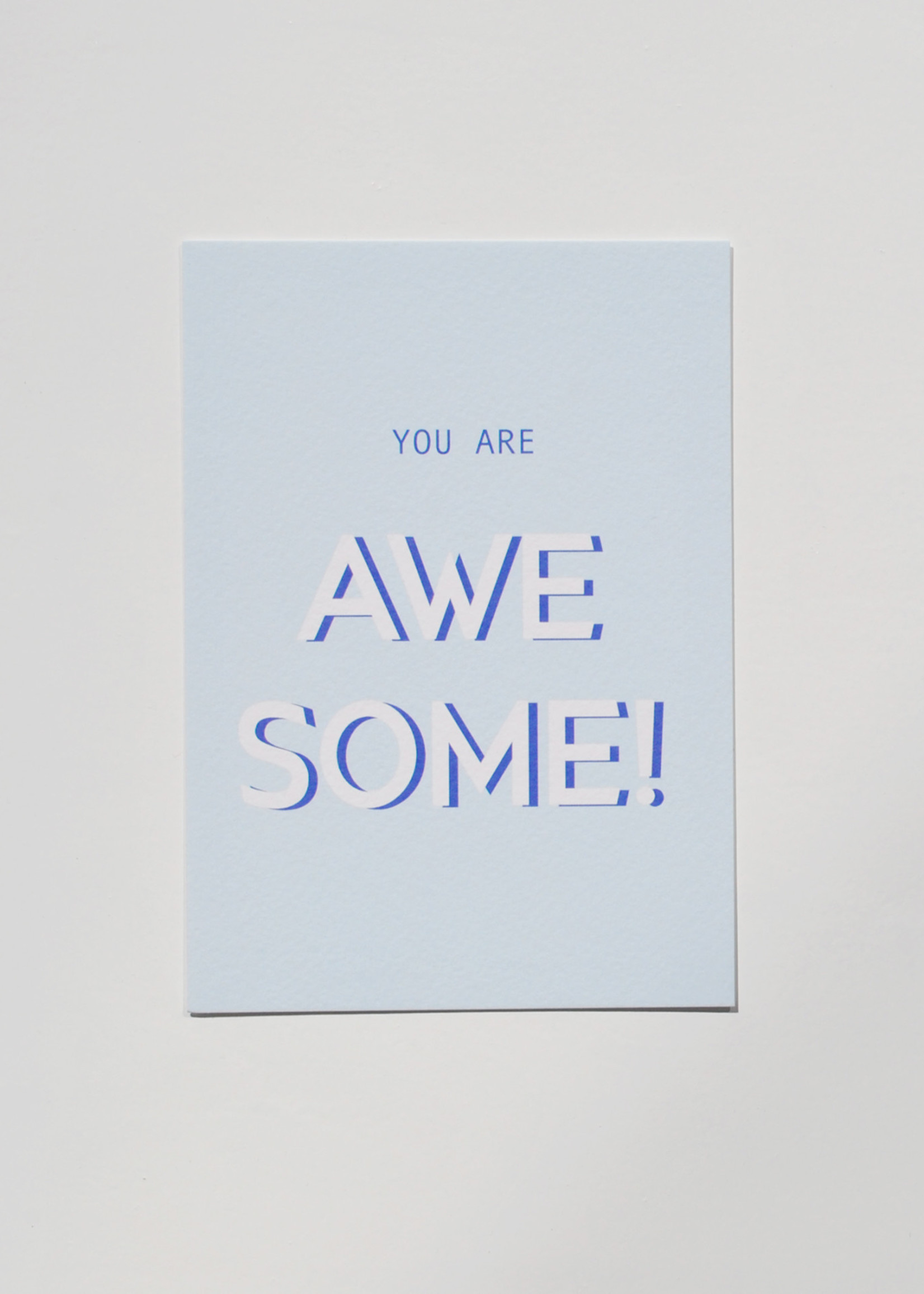 Mood card - you are AWESOME!