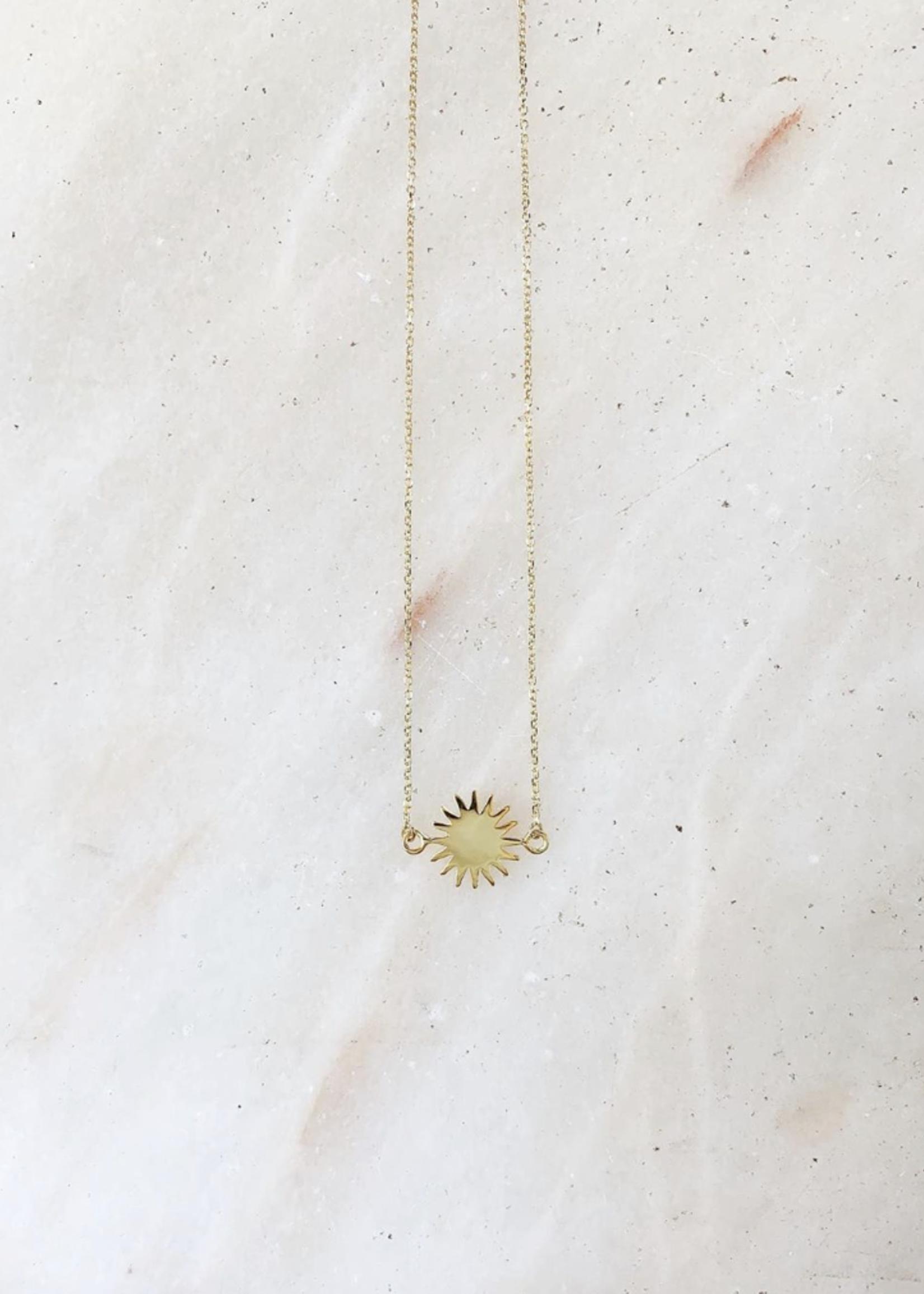 Essyello Necklace - sun