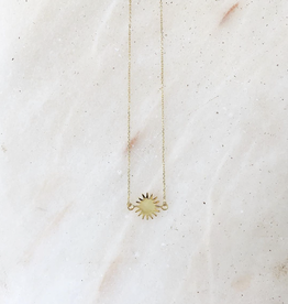 Essyello Necklace - sun