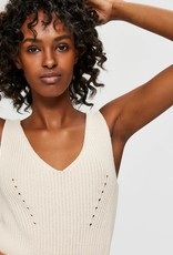 Selected Femme Sinna Knit Top sandshell