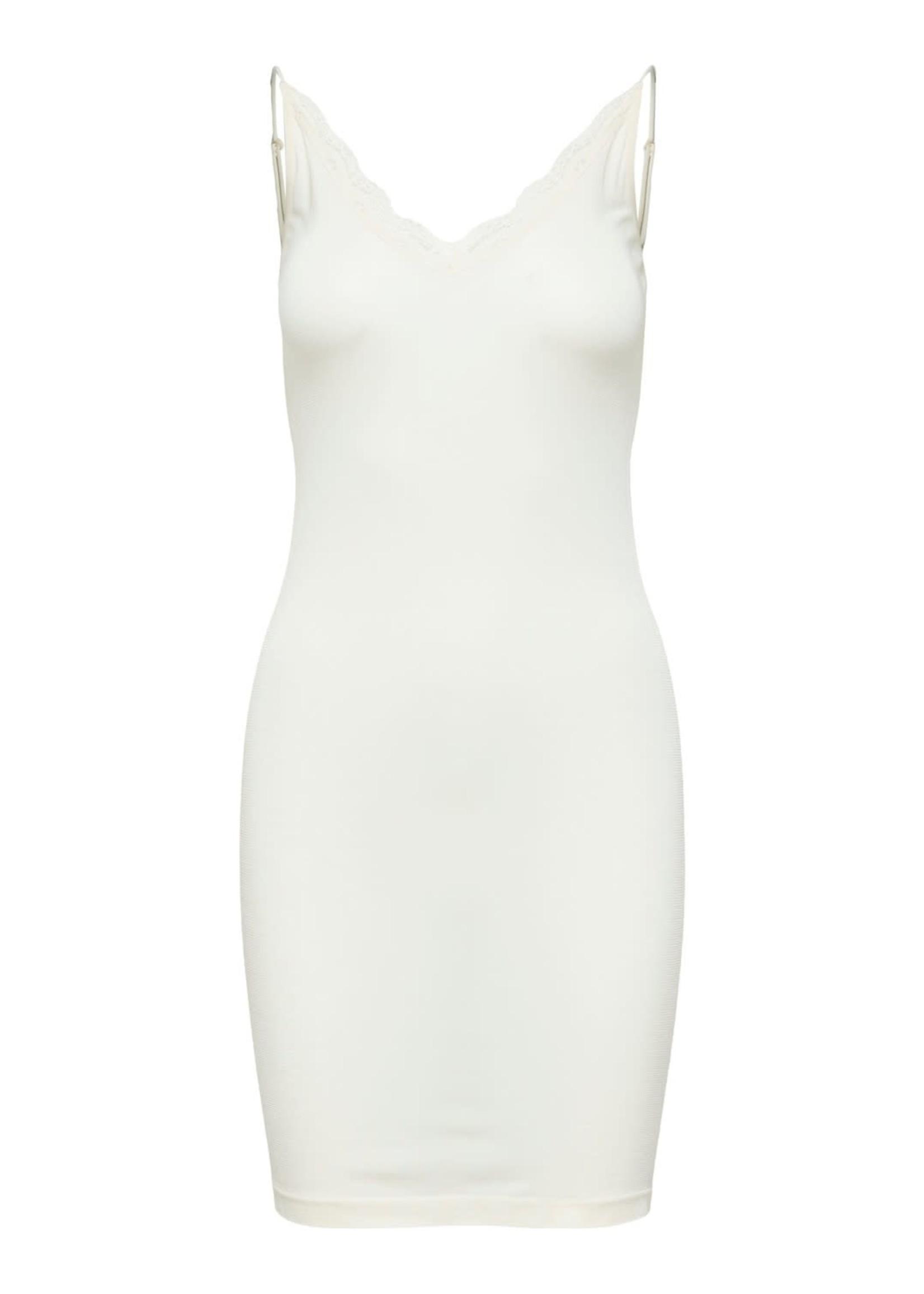 Selected Femme Mille Seamless Strap Dress black